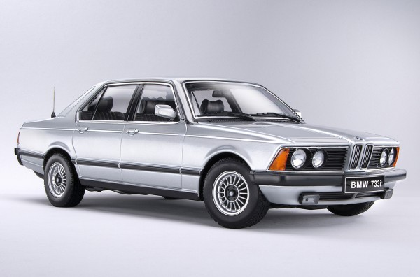 KKScale BMW 7er (767), silber