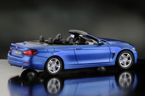 iScale BMW 4er Cabriolet, estorilblau