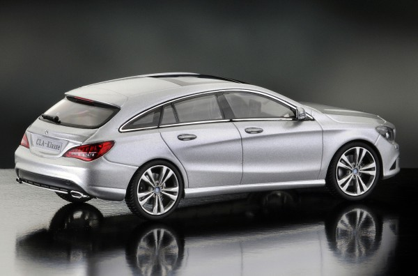 iScale MERCEDES CLA shooting Brake, polarsilber