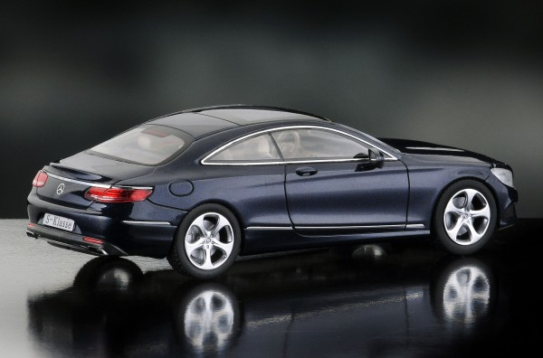 iScale MERCEDES CL, S-Klasse Coupe, cavansitblau