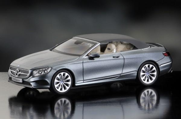 iScale MERCEDES S-Klasse Cabriolet, selenitgrau