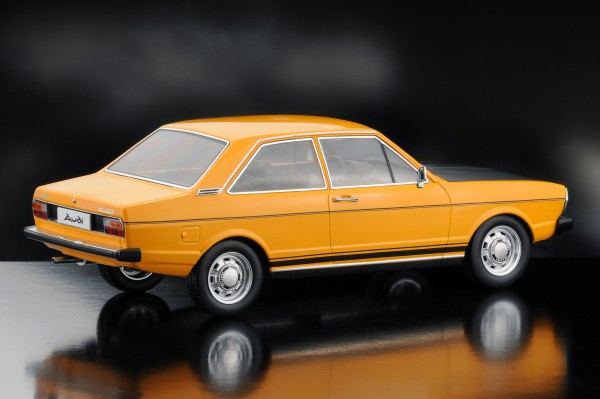 KKScale AUDI 80 GTE, orange-schwarz
