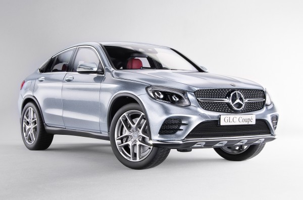 iScale MERCEDES GLC Coupe, silber
