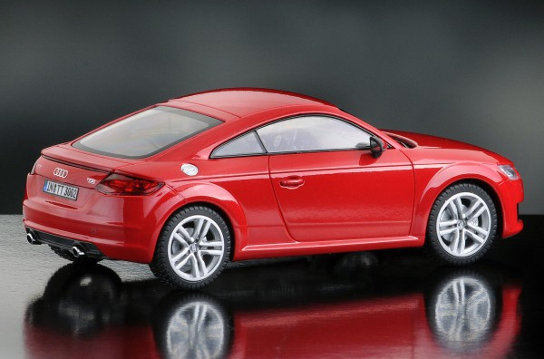 iScale AUDI TT Coupe, rot