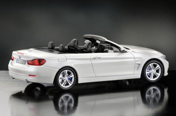 iScale BMW 4er Cabriolet, alpinweiß