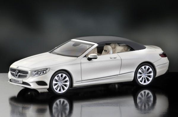 iScale MERCEDES S-Klasse Cabriolet, diamantweiß