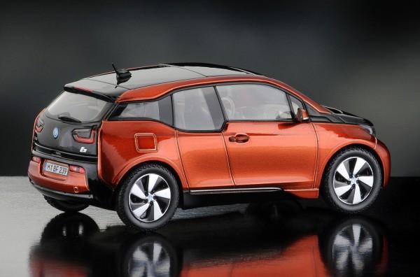 iScale BMW i3, solarorange