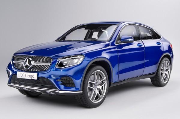 iScale MERCEDES GLC Coupe, blau